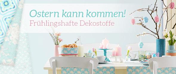 Osterdeko bei stoffe.de, lass dich von unserer Auswahl inspirieren