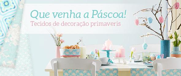 Decoração de Páscoa na tecidos.com.pt: deixe-se inspirar pela nossa seleção