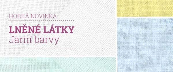 Objevujte lněné látky ve svěžích barvách na latka.cz!