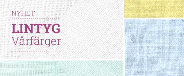 Upptäck linnetyger i fräscha färger på tyg.se!