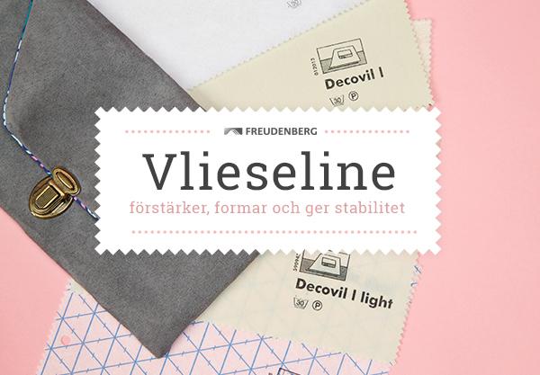 Gör alla väskor till ett mästerverk - passande inlägg och volymmellanlägg från Vlieseline