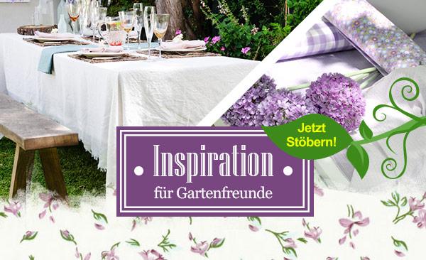 Inspiration für Gartenfreunde - die Gartenwelt bei stoffe.de