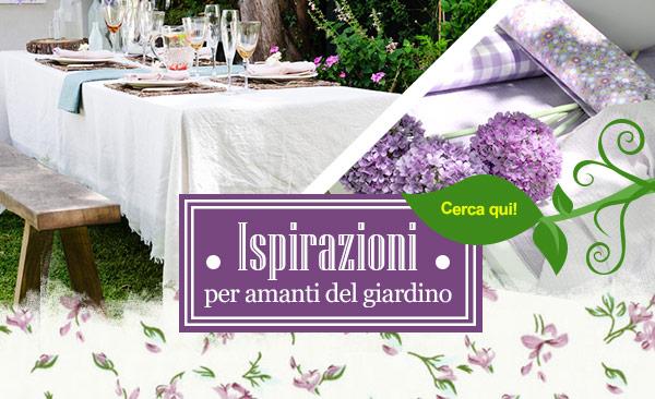 Ispirazioni per amanti del giardino. Il mondo del giardino su tessuti.com