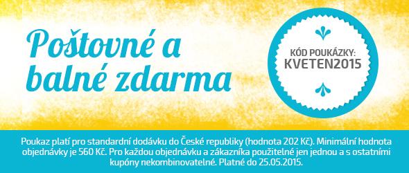 Slevová akce v květnu - objednávejte bez poštovného a balného na latka.cz