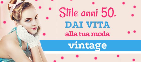 Le decadi della moda: tessuti e articoli di merceria nello stile degli anni cinquanta su tessuti.com