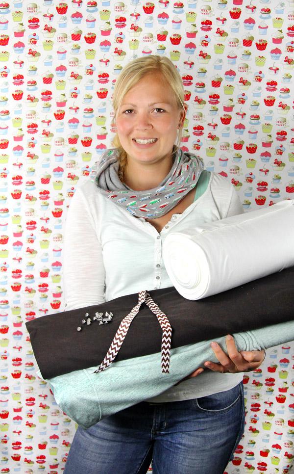 Mitarbeiterempfehlungen Sina unsere Shop Managerin von stoffe.de