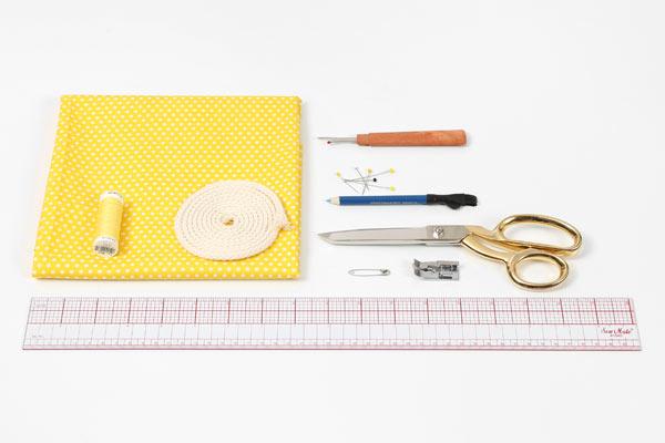 Kostenlose Nähanleitung: Wäschesack für Reisen oder Zuhause - Materialien bei stoffe.de finden