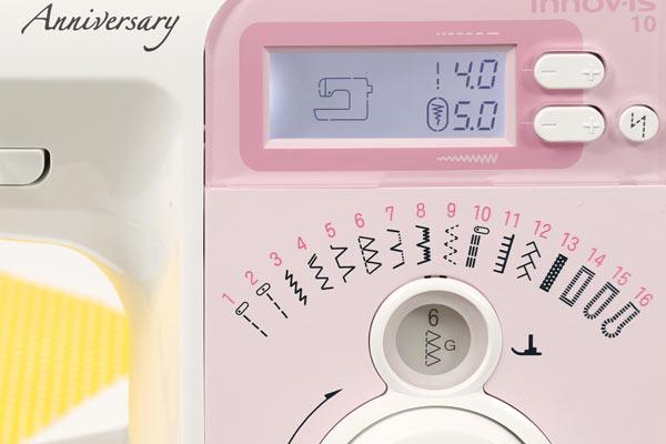 Kostenlose Nähanleitung: Wäschesack für Reisen oder Zuhause - Versäuberungsstich an der Nähmaschine einstellen