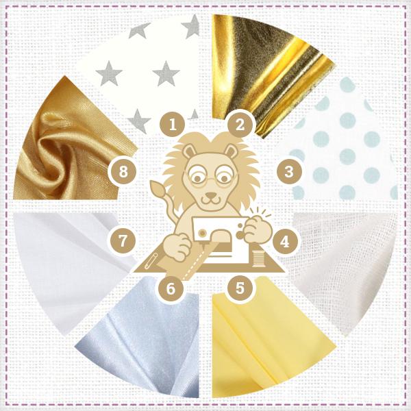 L'horoscope couture de tissus.net : Lion