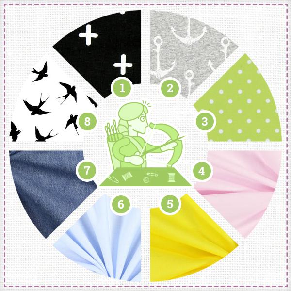 L'horoscope couture de tissus.net : Sagittaire