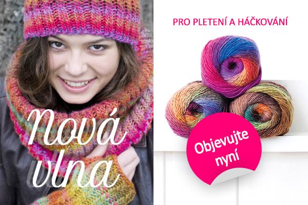 """Pro příští pletený projekt: Nové vlny značky """"Rellana"""""""