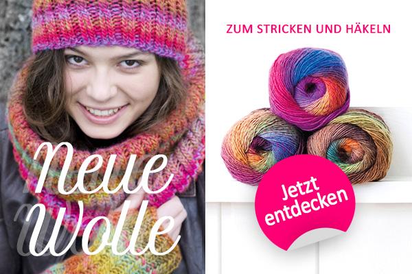 Für das nächste Strickprojekt: Neue Wollqualitäten der Wollmarke