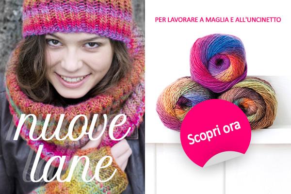 Per il prossimo progetto di lavoro a maglia: nuove qualità di lana del marchio