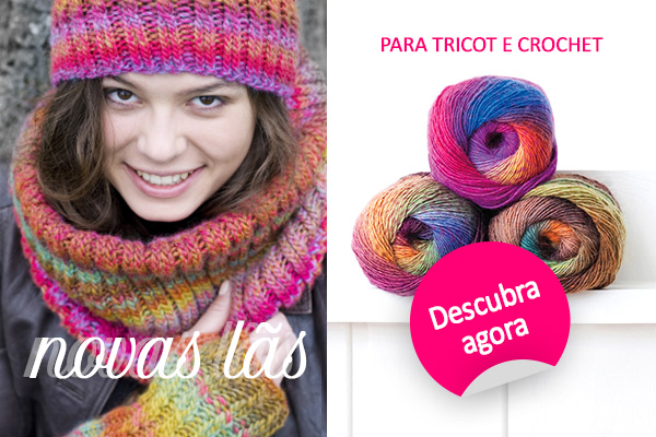 Para o seu próximo trabalho de tricot: novas qualidades de lã da marca de lãs