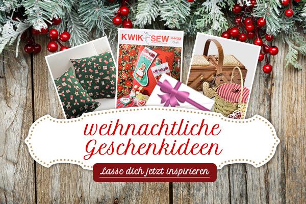 Für alle, die jetzt schon nach Geschenken suchen - Geschenkideen bei stoffe.de