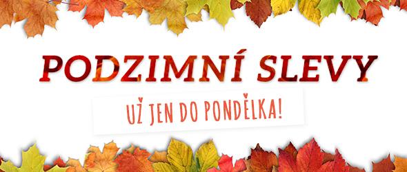 Již jen do 10. 11. Nakupujte výhodně! Podzimní slevy na latka.cz