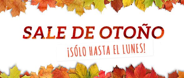 Solo hasta el 10 de noviembre ¡No te pierdas las gangas! Ofertas de otoño en telas.es