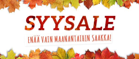 Enää vain 10.11. saakka Hyödynnä tarjoukset! Syysale kankaita.comissa