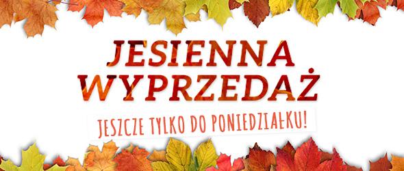 Tylko do 10 listopada. Skorzystaj z okazji! Jesienna wyprzedaż na stronie tkaniny.net