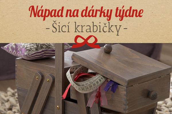 Doporučení od latka.cz: Kufřík na šití jako nápad na dárek