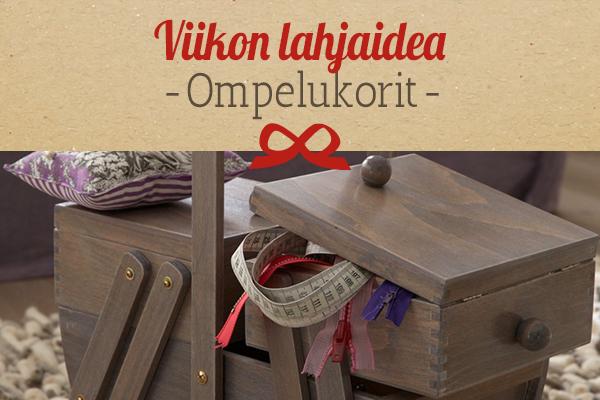 kankaita.comin suositus: Pienet ompelukorit lahjaideana