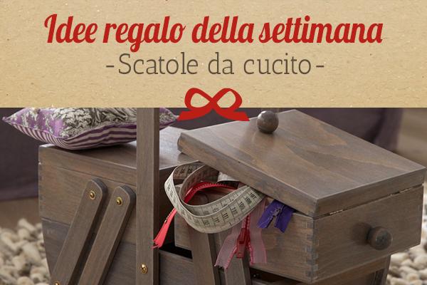 Il consiglio di tessuti.com: cestino da cucito come idea regalo