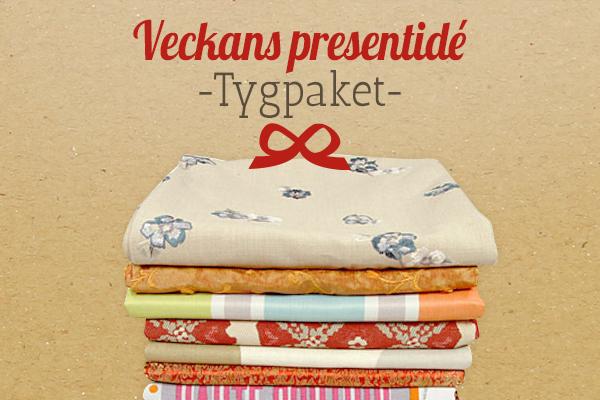 Tyg.se rekommenderar: tygpaket som presentidé