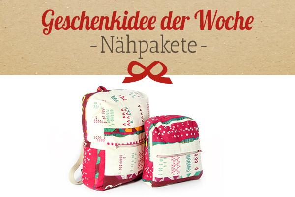 Die Empfehlung von stoffe.de: Nähpakete als Geschenkidee