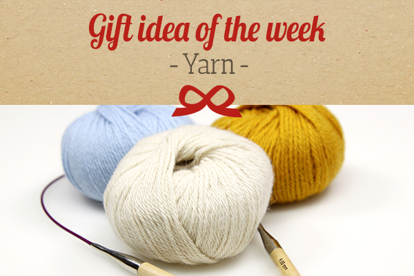 myfabrics.co.uk recommends: knitting and crochet wool as a gift idea