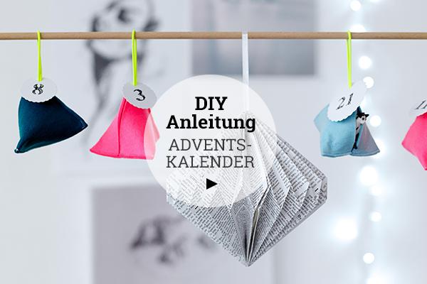 DIY Anleitung für Adventskalender - jetzt schnell loslegen!