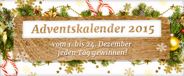 Jeden Tag Gewinnchance sichern - im Adventskalender von stoffe.de