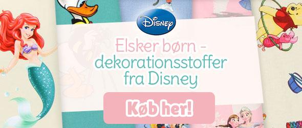 Til fans af Disney-film: Dekorationsstoffer med Disneymotiver