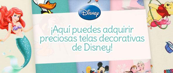 Para los fans de las películas de Disney: Telas decorativas con diseño de Disney