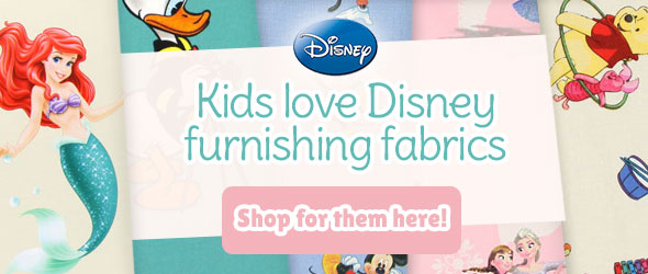 For fans of Disney films: furnishing fabrics with Disney motifs