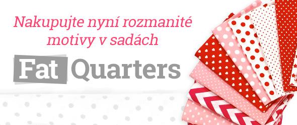 Sady Fat Quarters a Fat Quarter Bundles pro Vaše patchworkové projekty