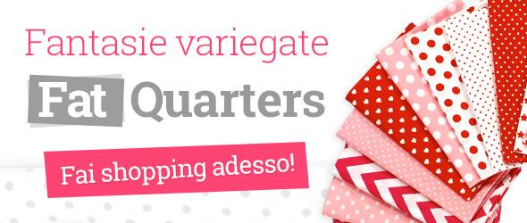 Fat quarters e fat quarter bundles per i tuoi progetti patchwork