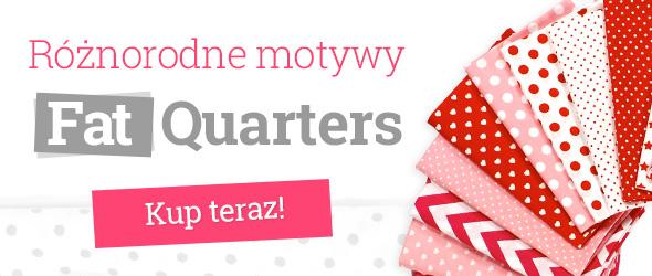 Fat Quarters i Fat Quarter Bundles na patchworki