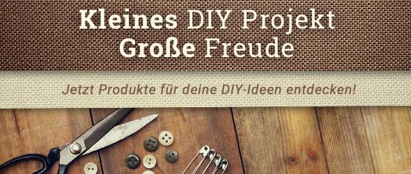 DIY ist toll - mach mehr selbst mit Produkten von stoffe.de!