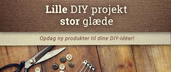 DIY er fedt - lav mere selv med produkter fra stofkiosken.dk!