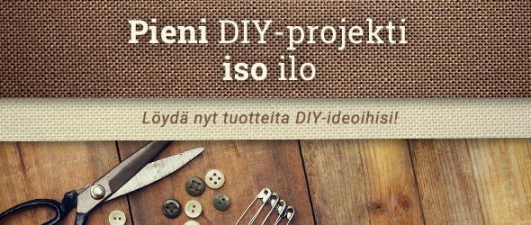 DIY on mahtavaa - tee enemmän itse kankaita.comin tuotteiden avulla!