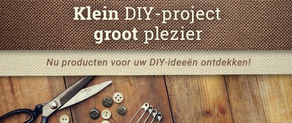 DIY is leuk - maak meer zelf met producten van stoffen.net!