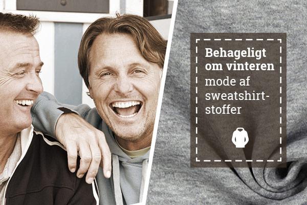 Mode til at slappe af i - hjemmelavet af sweatshirtstoffer
