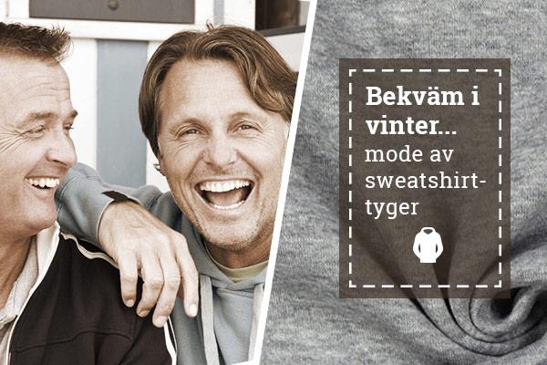 Mode för lata dagar – sy det själv av sweatshirttyger