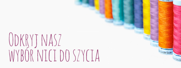 Wysokiej jakości nici do szycia, w szerokiej gamie kolorów, dostępne w witrynie tkaniny.net