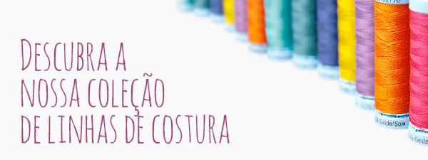 Linhas de costura numa grande variedade de cores e de excelente qualidade na tecidos.com.pt