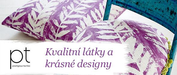 Pro Váš domov jen to nejlepší - dekorační látky značky Prestigous Textiles