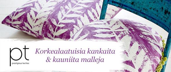 Vain parasta kotiisi - Prestigious Textiles -koristekankaat