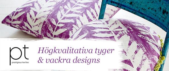 Dekorationstyger från Prestigious Textiles - endast det bästa för ditt hem