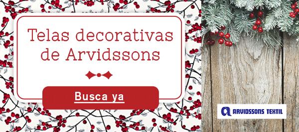 Telas decorativas de Arvidssons, para todos aquellos a los que les guste el diseño escandinavo