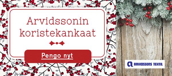 Arvidssons-sisustuskankaat - kaikille Skandinavian ystäville